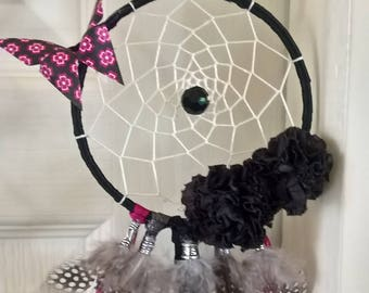 Dream catcher to hang from a rear view mirror or door