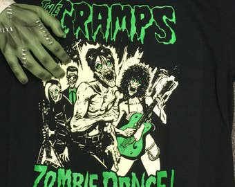 The Cramps Zombie Dance T shirt