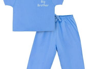 Big Brother Scrubs (Available in 3 Colors)