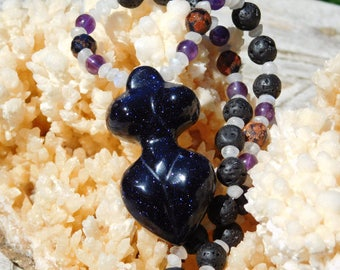 Energetic Balance Goddess Talsimanic Necklace