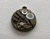 Vintage watch movement for parts