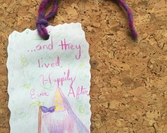 And They Lived Happily Ever After Bookmark by Valentine
