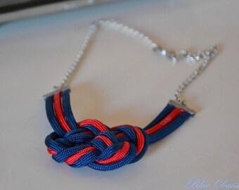 Pretty Rope Necklace/ Joli Collier en Paracorde