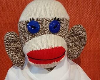 Martial Arts Sock Monkey