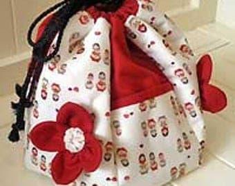 Pocket Sewing Caddy by Leesa Chandler Designs, Australia