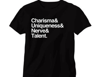 Charisma Uniqueness Nerve & Talent Tee/Tank