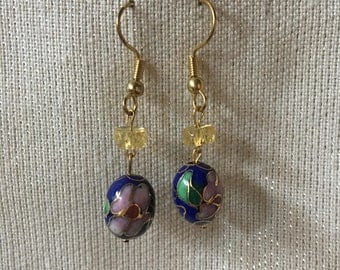 Beaded Drop Earrings