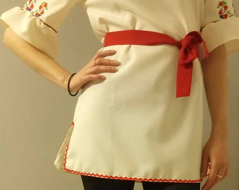 Eastern European Tunic with handmade embroideries