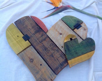 Rustic Wooden Hearts