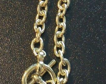 Gold Cross Bracelet
