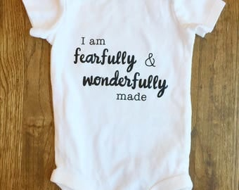 Scripture Baby Bodysuit | Christian baby clothes | Baby gift