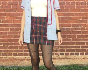 Pretty in Plaid Mini