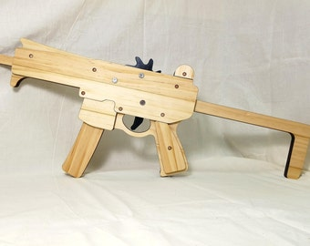 Rubber band gun MPX