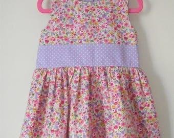 Handmade Girls Age 2-3 Years Party Dress