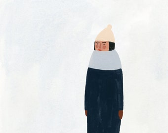 Winter print 8x10