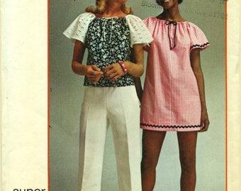 Einfachheit 5468 TOP Super einfach Größe Medium der 1970er Jahre