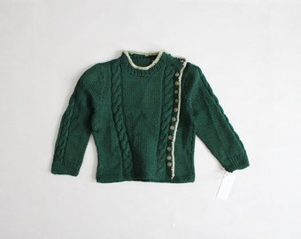 60s girls sweater | children's sweater | baby sweater 12-24 months