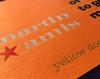 Martin Amis Quotation Poster