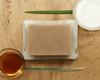 Cream and Honey Soap | Oatmeal Soap, Honey Soap, Bath and Body Soap, Vegan Soap, Vanilla Bean, Gift Idea for Women, Boyfriend Gift