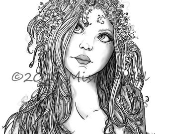 Shaylee~Spring Faerie~ Fantasy Art~ Digital Download