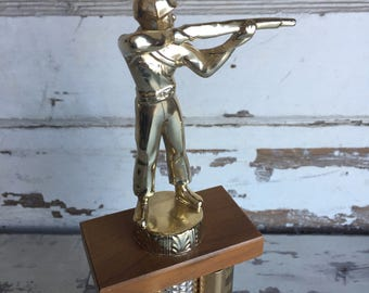 Vintage Trophy - Hunting and Fishing Solid Metal Shooting