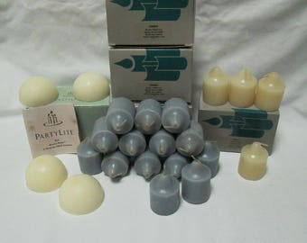 Lot of Partylite Candles