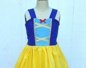 SNOW WHITE dress, vacation princess dress, summer princess dress, Snow White costume, Toddler Snow White Dress, comfortable princess dress