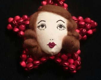 Hanging Star Doll Face Decoration