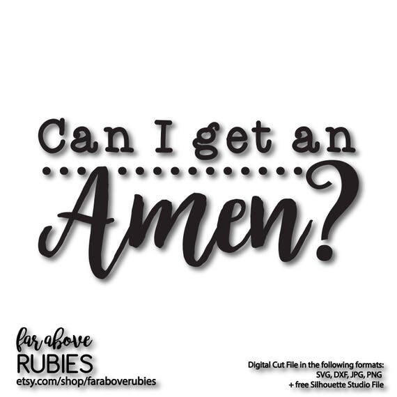 where can i get a free haircut can i get an amen svg eps dxf png jpg digital cut 5635