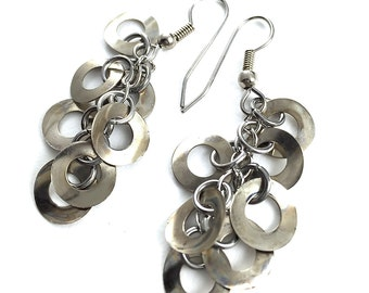 Dangle Earring Drops Hardware Jewelry Industrial Washers Eco Friendly