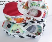 RESERVED for Holly, 2 cloth diaper covers, Medium