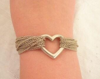 Tiffany 925 Bracelet Etsy