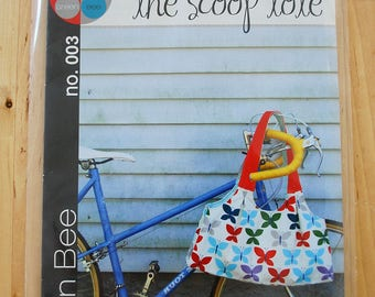 The Scoop Tote - Green Bee Sewing Patterns - Paper Pattern