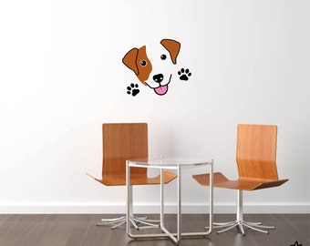 Cute Jack Russell Terrier  Wall Decal