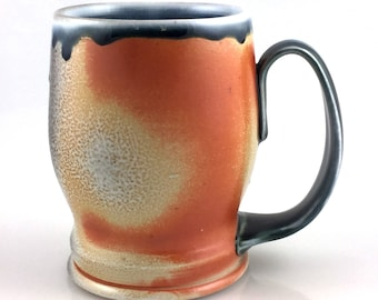 Soda Fired Porcelain Beer Stein