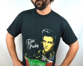 Vintage Elvis Presley 90s Graceland Tshirt Tee Shirt