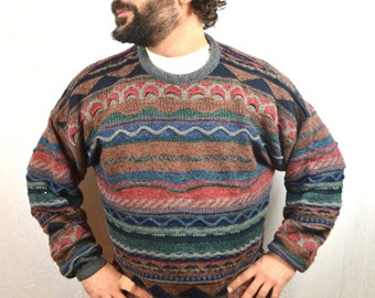 Vintage 80s 90s COOGI Style Cosby Sweater