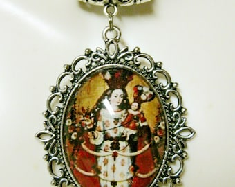 Our lady of the Rosary necklace - AP09-097