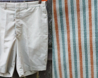 45% OFF Mens 60s Shorts by Jantzen / 60s Costume / Ken Doll Costume / Striped Shorts / Vintage Shorts Waist 34