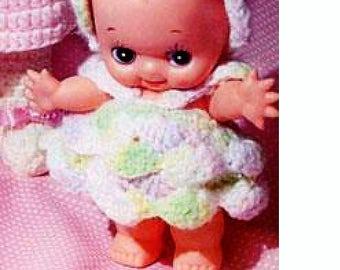 Bargain!  Cute Kewpie Doll Crochet Pattern Download