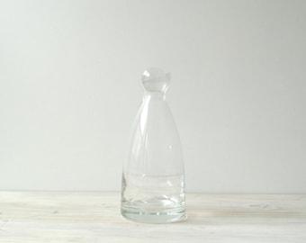 Vintage Decanter, Glass Decanter, Modern Decanter