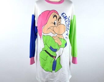 GRUMPY Sleeper T-Shirt - Snow White and the Seven Dwarfs