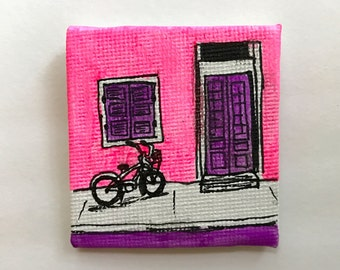 French Quarter Magnet Painting