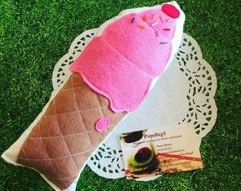 Felt food icecream cone - my first felt food