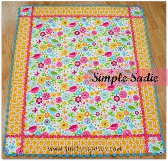 Simple Sadie Meets Modern Millie Digital Quilt By Quiltscapes