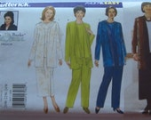 Very Easy to Sew Womens Plus Size Jacket, Top, Skirt and Pants Sizes 20W 22W 24W Delta Burke Design Butterick Pattern 5637 UNCUT