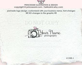 1300-1 photography logo, camera logo, whimsical camera, business card, watermark, banner, photographer watermark , camera art