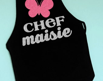 Kids Personalized Apron, Children's Apron, Mommy's Little Helper, Personalized Child's Apron, Princess Apron, Chef in training, Little Chef