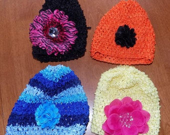 Crochet hats for infants/toddlers