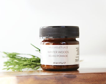 Winter Woods Beard Balm | Conditioning Cream For Facial Hair | 100% natural + vegan - TRAVEL SIZE